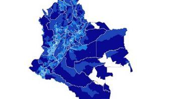 Estudio Colombiano del Agua, cabeceras municipales