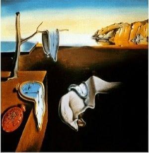 La persistencia del tiempo. de Salvador Dalí