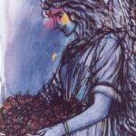 Pintura El Angel, German Tessarolo