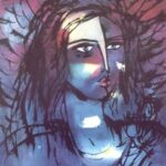 Pintura Angel de Amor, German Tessarolo