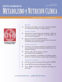 Metabolismo y Nutrición Clínica 3 No. 2