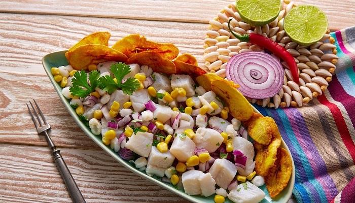 Ceviche Peruano De Pescado Recetas Con Pescado Facil
