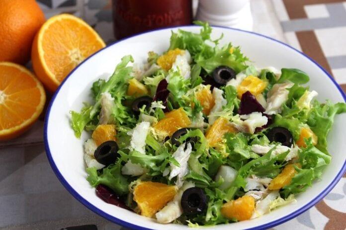 Ensalada a la Naranja