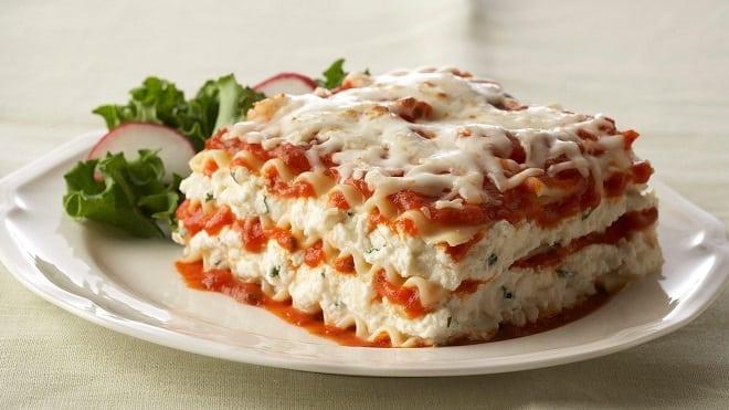 Lasagna de Pollo receta