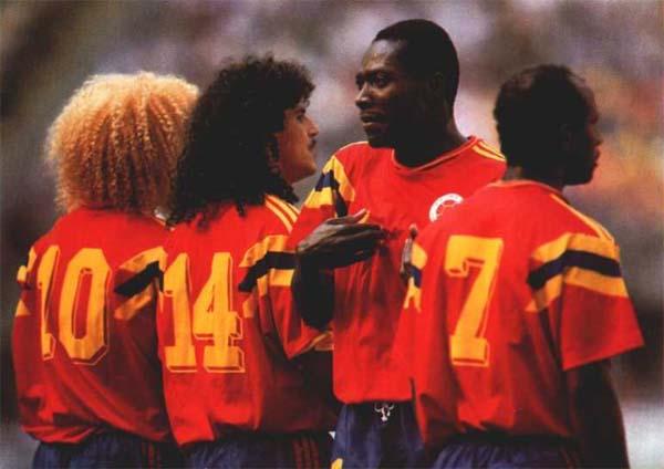 Selección Colombia de 1990- Historia de la Selección