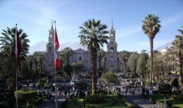 Arequipa- Plaza de Armas