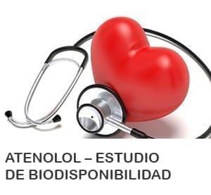 Atenolol – Estudio de Biodisponibilidad