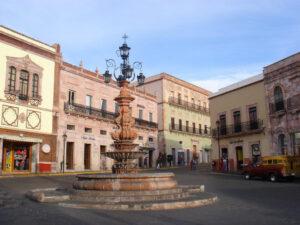Centro de Zacatecas-México
