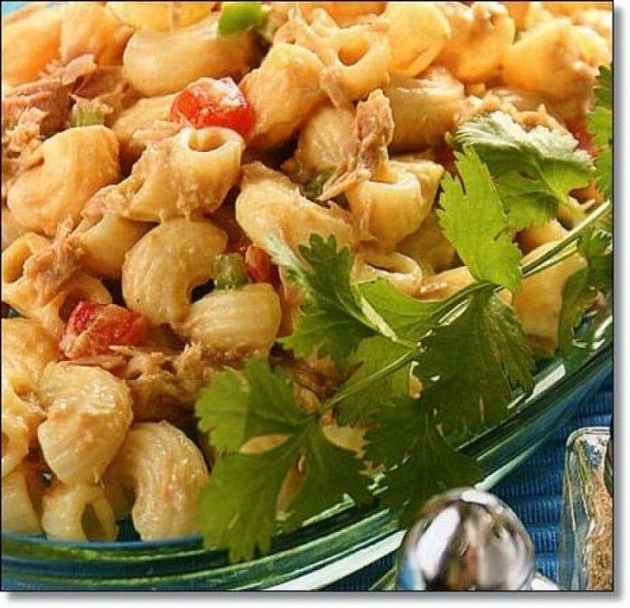Conchas con Atun y Habichuelas - recetas