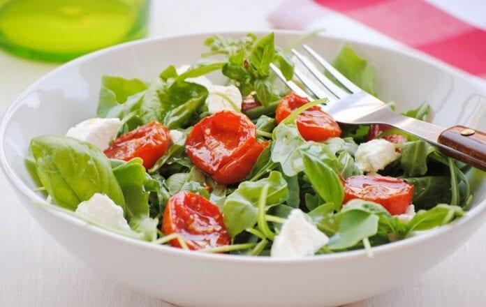 Ensalada de Queso y Tomate