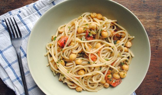Espaguetis con Tutti