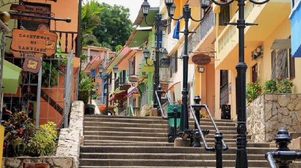 Las Peñas en Guayaquil - Turismo