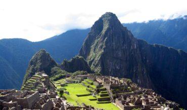 Paisaje de Machu Picchu-Peru