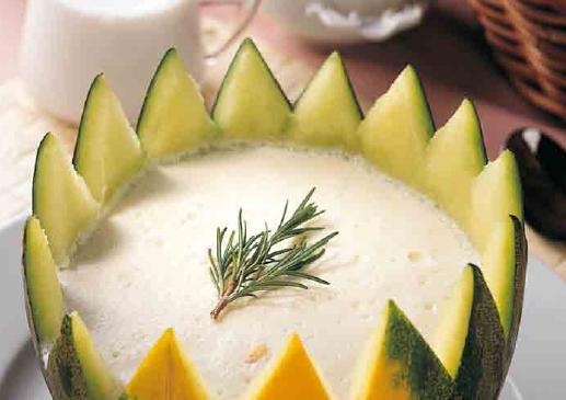 Melon con Yogurt