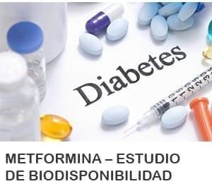Metformina – Estudio de Biodisponibilidad