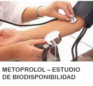 Metoprolol – Estudio de Biodisponibilidad