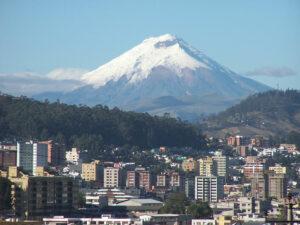 Paisaje de Quito - Ecuador
