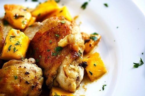 Pollo con Mango