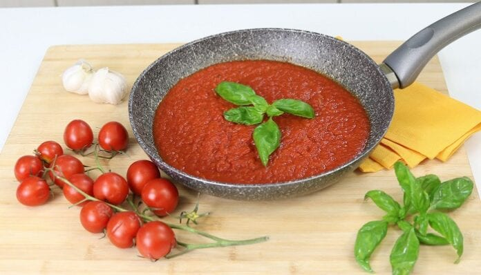 Salsa de Tomate para Pasta Receta