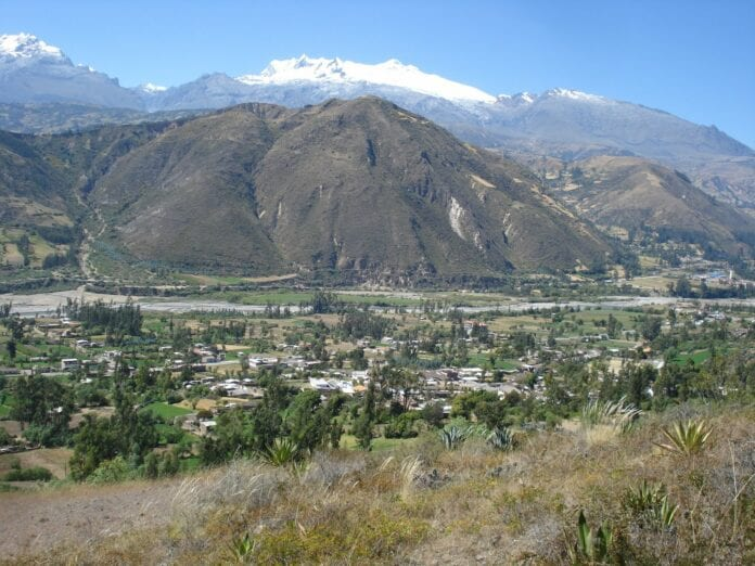 Vista del Departamento Ancash-Peru