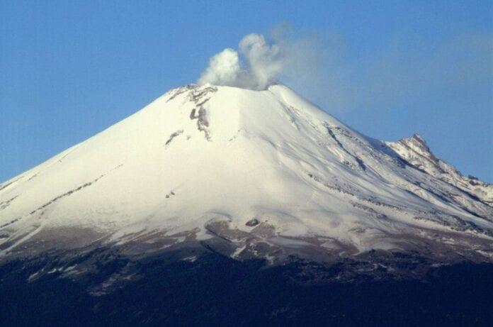 Volcan Popocatepetl - Departamento de Puebla