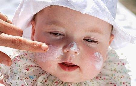 Cuidado de la piel en niños