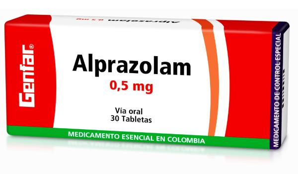 Alprazolam 0.5mg Tabletas - Genfar