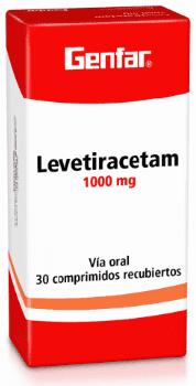 Levetiracetam 1000mg Tabletas - Genfar