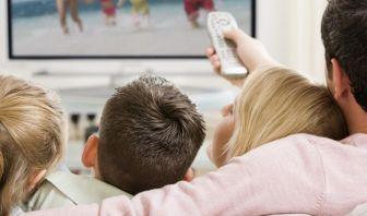 la televisión y la familia