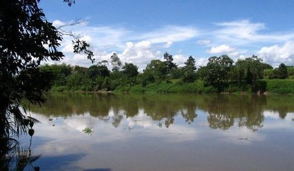 Río Cauca en Colombia