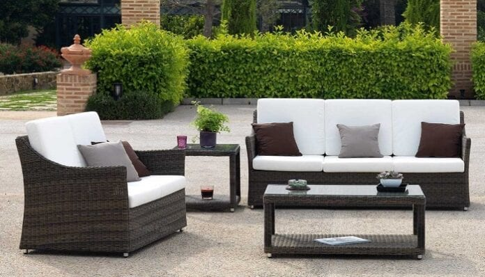 Cuidado de muebles para exteriores