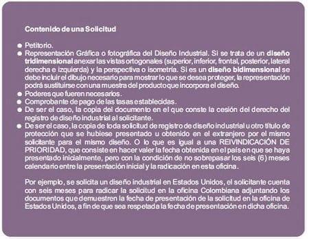 Solicitud - Registro de Diseño Industrial