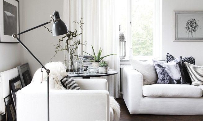 Estilos Decorativos En Blanco y Negro