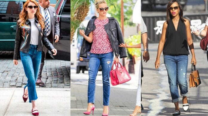 Vestir con Jeans y Leggins
