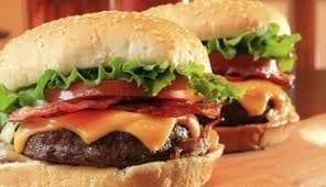 La hamburguesa - Invento