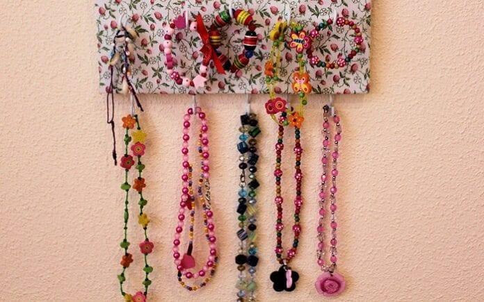 organizador para collares