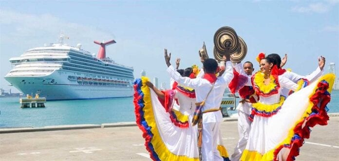 viajeros extranjeros a Colombia