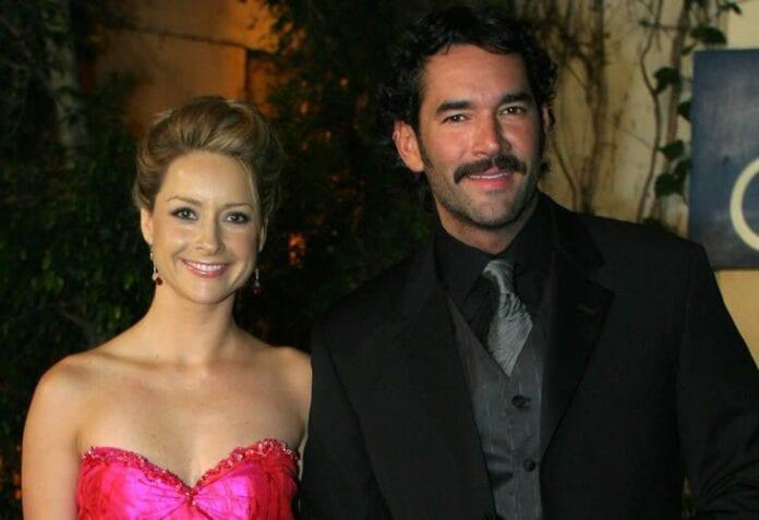 Eduardo Santamarina y Susana Gonzalez