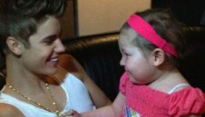 Justin Bieber se casó con una niña enferma