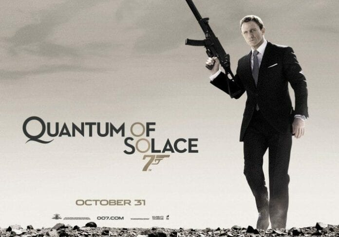 Quantum of Solance 07 - Película de James Bond