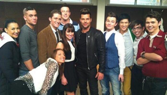 Ricky Martin debutó en Glee
