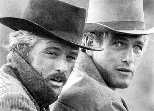 Robert Redford y Paul Newman