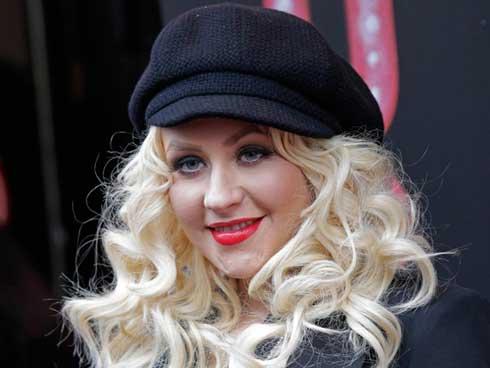 Christina Aguilera no consigue adelgazar