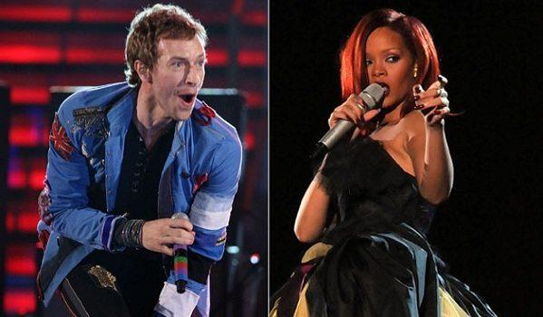 Rihanna colabora con Coldplay