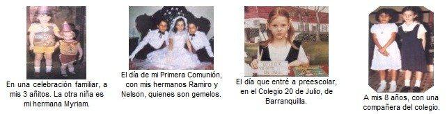 Maritza Rodríguez su Infancia