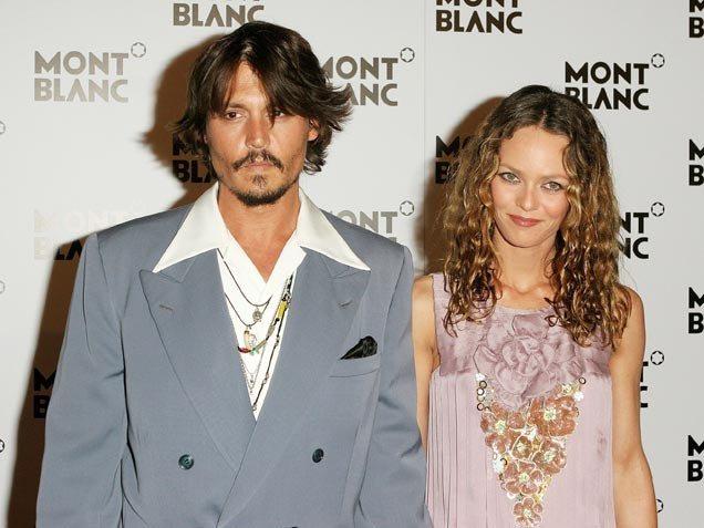Johnny Depp y Vanessa Paradis separación