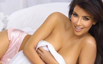 Kim Kardashian subió 9 kilos