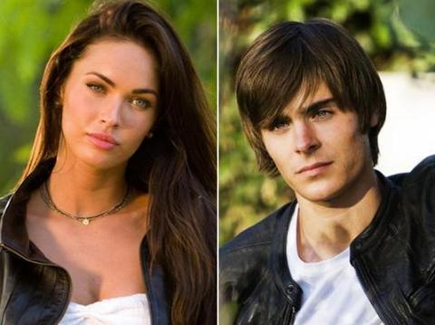 Megan Fox y Zac Efron