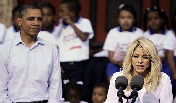 Obama elije a Shakira
