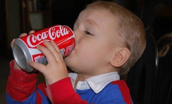 Las Bebidas Azucaradas están engordando a los Preescolares